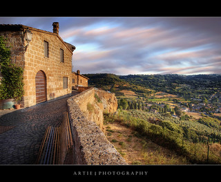 The View of Umbria in Italy :: HDR + Hitech Pro 10-stop ND Filter