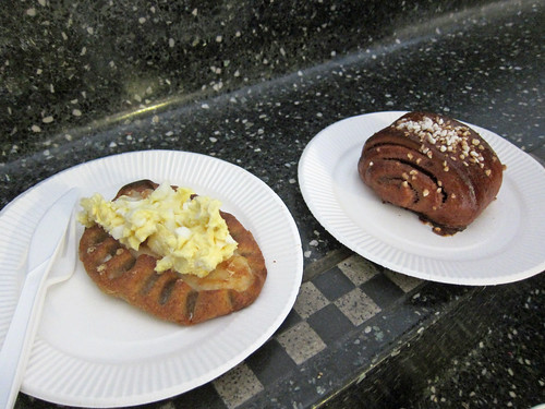 Karelian Pastry with Egg Butter and Cinnamon Swirl
