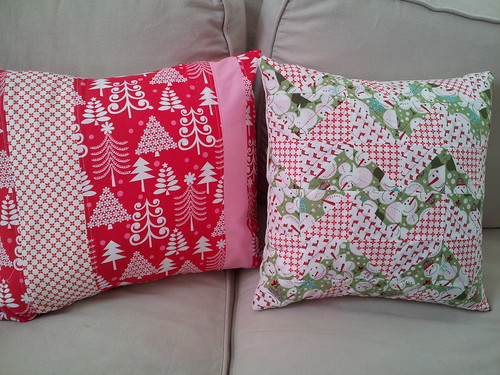 Christmas Pillows by mrsrachelsbooth