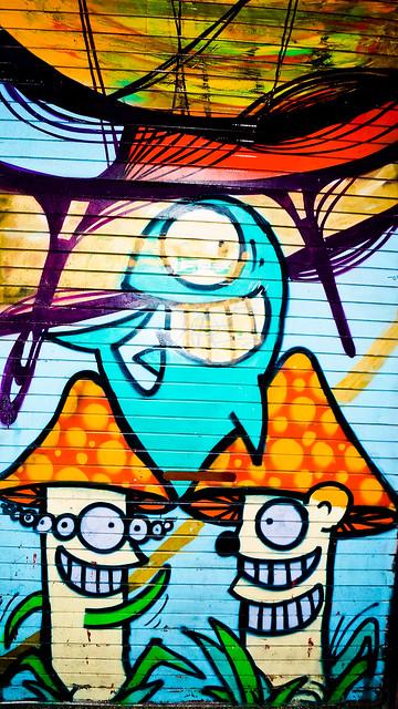 Mushroom Graffiti | Flickr - Photo Sharing!: www.flickr.com/photos/rhiannonhodge/8228164102
