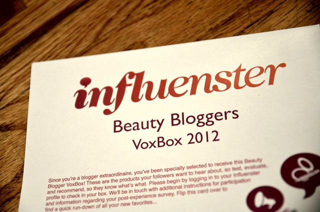 Influenster Box Review