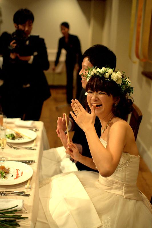 2012.11.24 Koizumi & Mukai Wedding Party