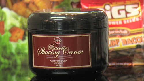 J&D's Bacon Shaving Cream