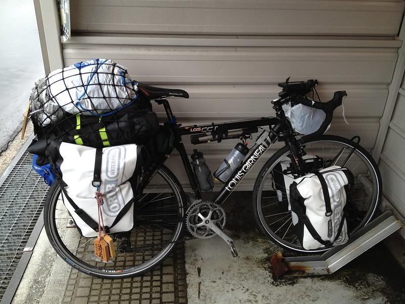 駐輪場に止めておいた自転車