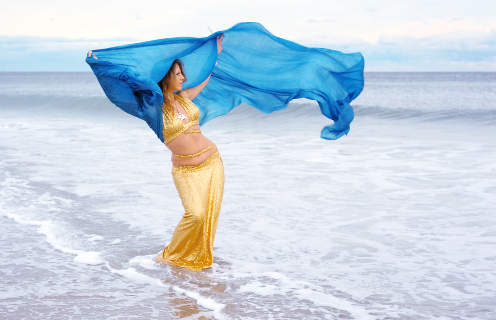 Belly Dancer Mariyah NYC by the Sea