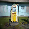 Petrol pump, Brora, Scotland by plasticfantastic