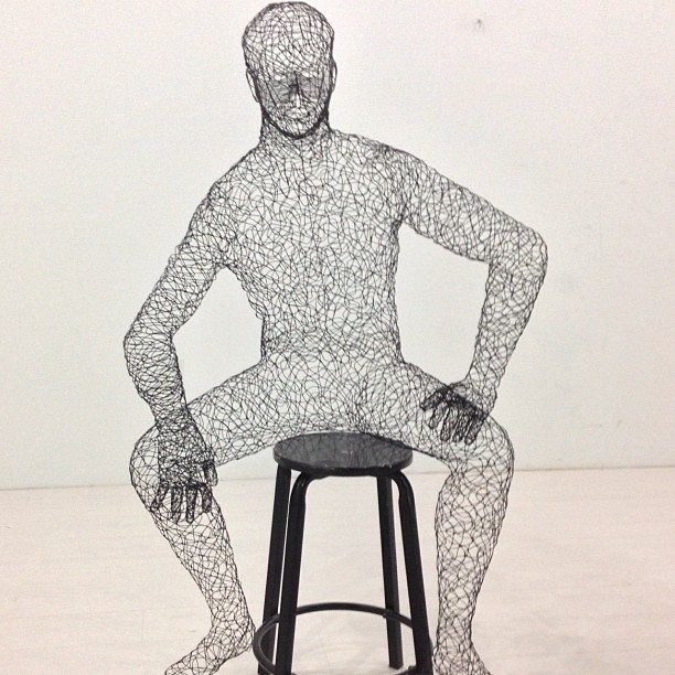 Check out these new Wire Mannequin Sculptures that are hitting our ...
