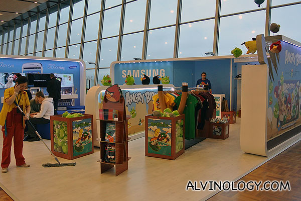 Angry Birds and Samsung collaboration