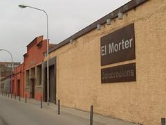 Façana del restaurant El Morter.