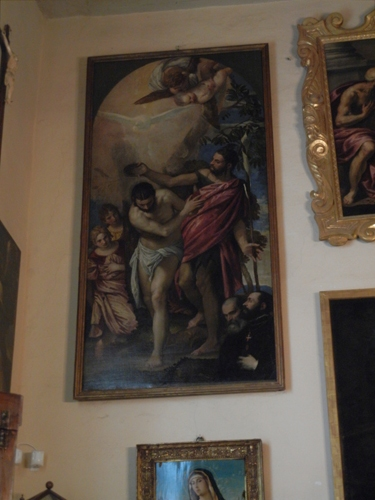 DSCN0457 _ Baptism of Christ, Paolo Caliari known as il Veronese, Redentore, Venezia, 11 October