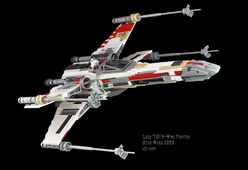 Star Wars Lego 7191 X Wing Fighter Ultimate Collector Ser Flickr