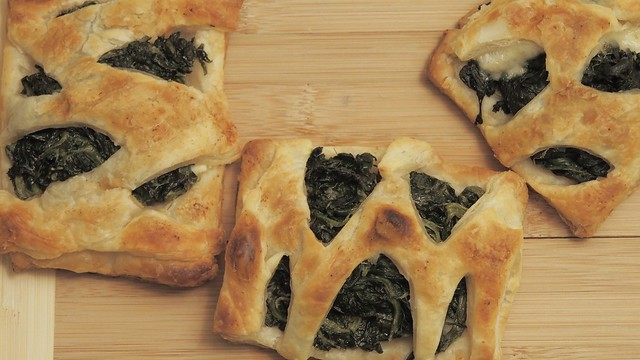Spinach&Cheese puff pastry