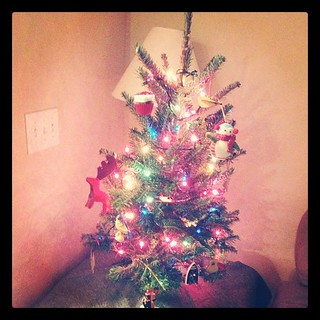 Our first {mini} Christmas tree :)