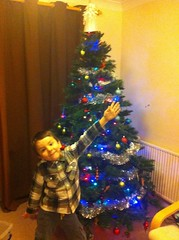 Charles & the Christmas tree