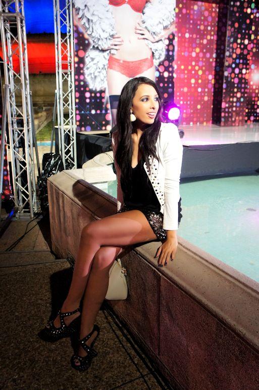 Mariale en La Senza Fashion Show