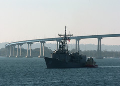 In this file photo, USS Curts (FFG 38) returns to San Diego following operations in the Pacific. (U.S. Navy photo by Journalist 2nd Class Zack Baddorf)