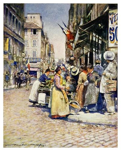 019- Un rincon en las calles del Sena-Paris (1909)-Mortimer Menpes