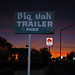 Big Oak Trailer Park Sign
