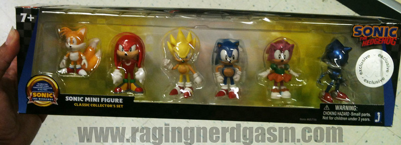 Sonic The Hedgehog figurines Sonic Mini Figures 6 pack  by Jazwares 024