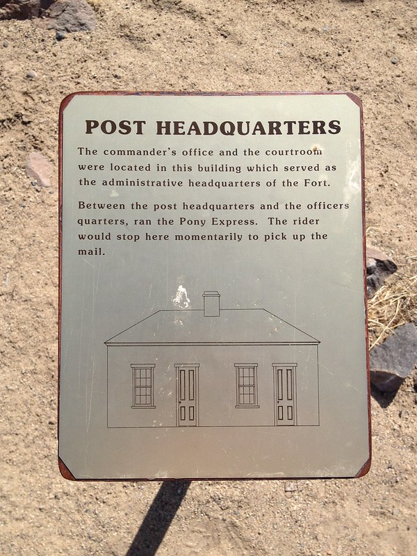 Fort Churchill Post Headquarters