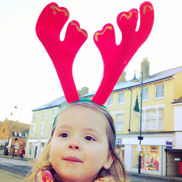 Tilly the Red-nosed Reindeer
