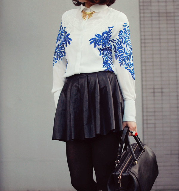 amazing embroidery shirt & tights