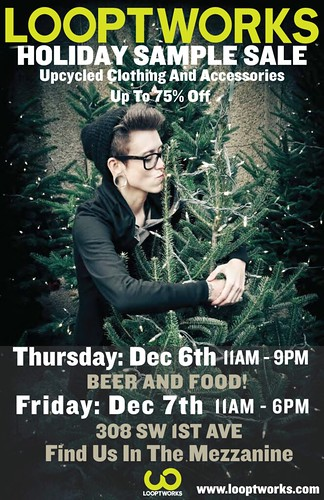 Looptworks Portland Holiday Sample Sale