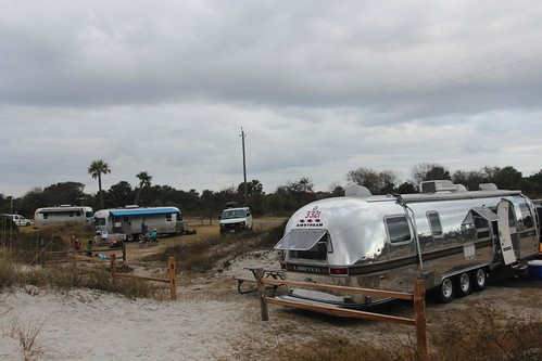 Day 121: Our mini Airstream rally in Huguenot.