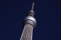 [Free Images] Architecture, Towers, Landscape - Japan, Japan - Tokyo, Tokyo Sky Tree ID:201212102000