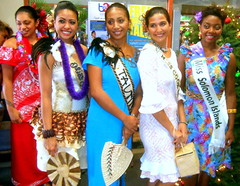 2012 Miss South Pacific Contestants