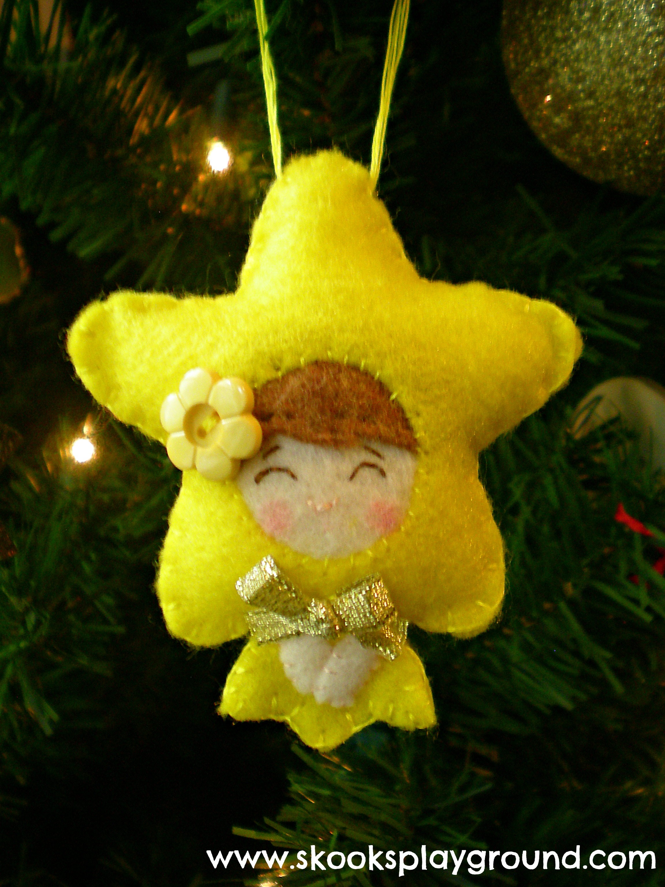 Little Star Ornament for Little Miss 2012