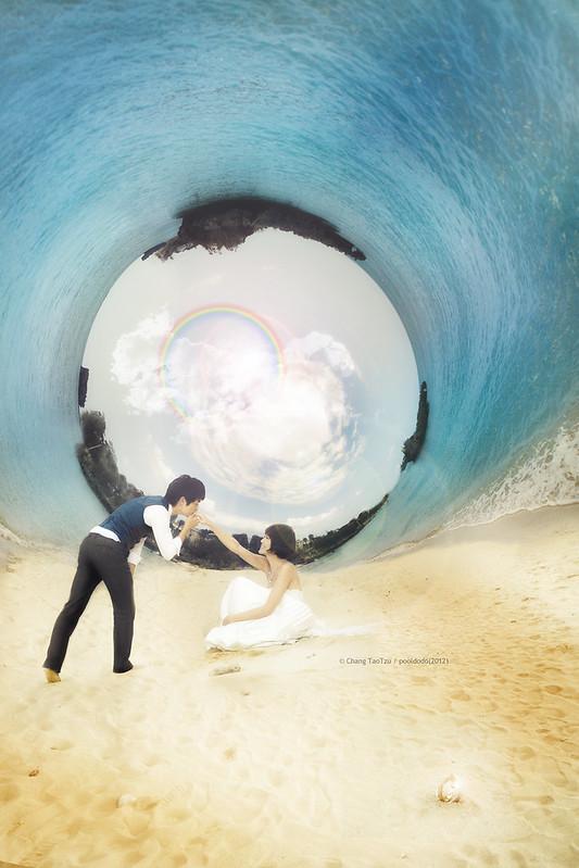 [wedding] Sand, Ocean and Us