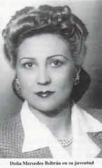 Mercedes Beltrán Sanz.