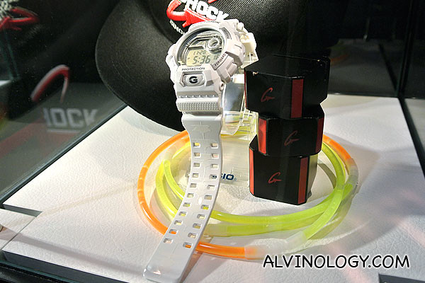 G-Shock G-8900A, designed by AOS