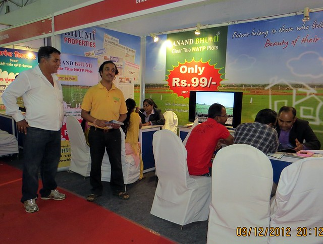 Pune Property Exhibition - Sakal Vastu - Property Expo - December 2012 - 27