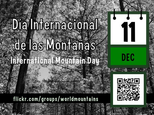 International Mountain Day is December 11