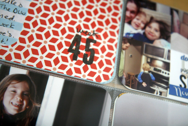Project Life 2012 | Week 45