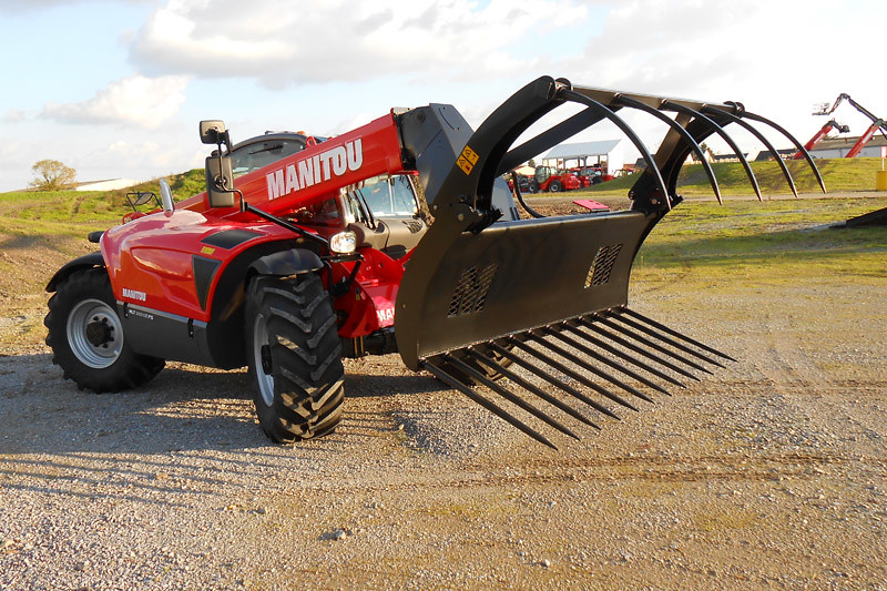 High Capacity Manure Grab