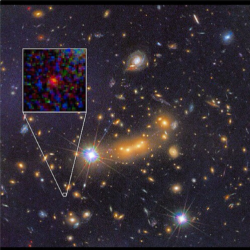 The farthest detected galaxy?