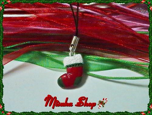 Colgante Movil Calcetin Santa