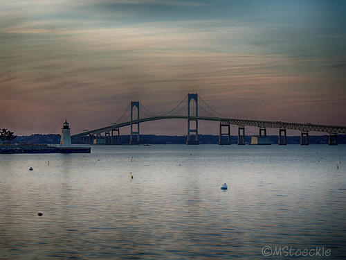 Pell Bridge in HDR by MStoeckle via I {heart} Rhody