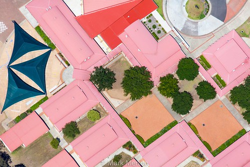 Pink Roof Abstract