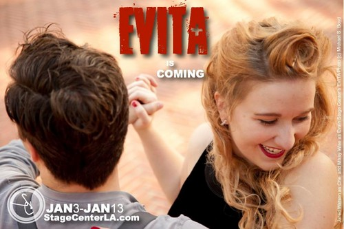Evita: Missy Wise, Emmett Hook Center, Jan 3 by trudeau