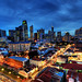 Dusk at Chinatown+CBD by |SiLeNcE|