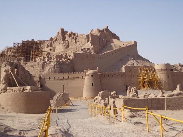 Fortaleza de Bam no Irao