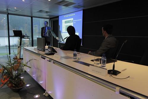 Seminario sobre Redes Inteligentes en Garaia.