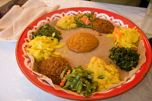 Veggie combo for two, Abyssinia