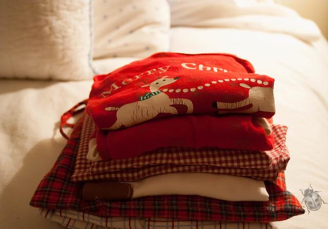 Los pijamas de Navidad