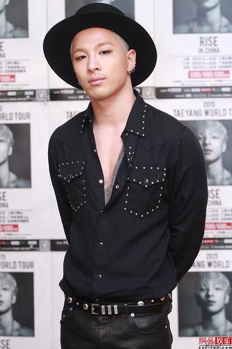 Tae Yang - Rise World Tour 2015 - Press Conference - 13jan2015 - 网易娱乐 - 07