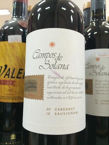 Sucre: un vin bolivien pour fêter nos 10 mois de voyage. Très bon  !